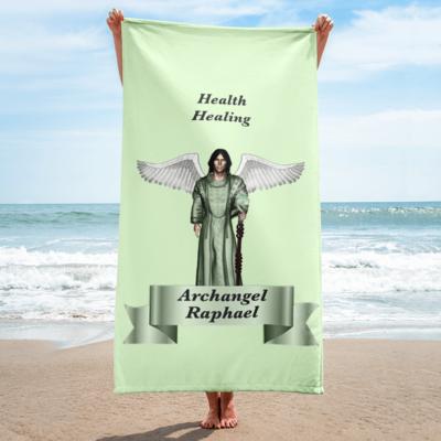 Archangel Raphael Towel