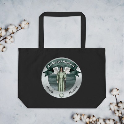 Archangel Raphael Large organic tote bag