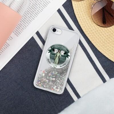 Archangel Raphael - Liquid Glitter Phone Case