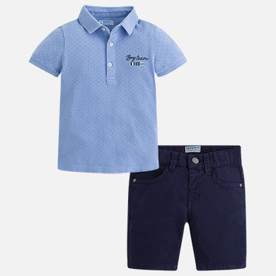 Polo & Shorts Set 3286C-7