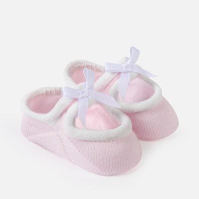 Pink Booties 0m