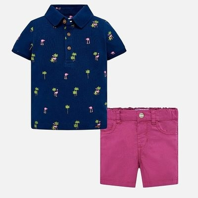 Polo Shorts Set 12m