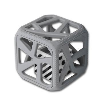 Dark Gray Chew Cube