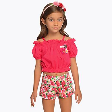 Flamingo Shorts Set 3217 - 6