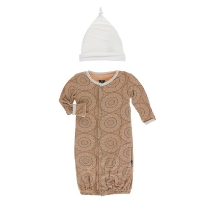 Bead Art Gown Set - NB