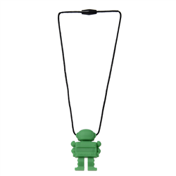 Space Man Pendant -green