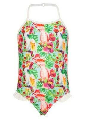 Tropical Birds Swimsuit - 6