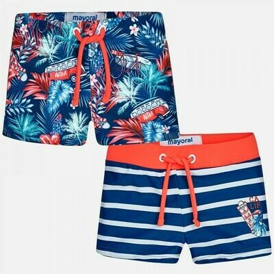 Tropical Print Swimsuit Set 1699 6m
