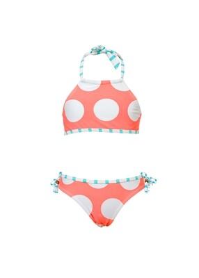 Coral Dots Bikini - 2