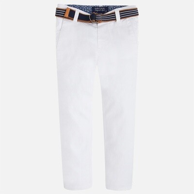 Belted Twill Pants 3503B-5