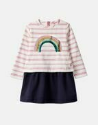 Sequin Rainbow Dress 7/8y