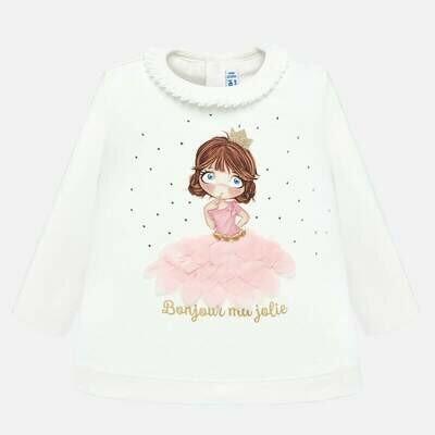 Pink Princess Shirt 2011 - 6m