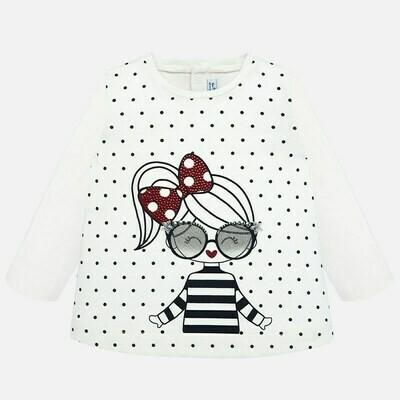 Dotted LS Shirt 2016 - 6m