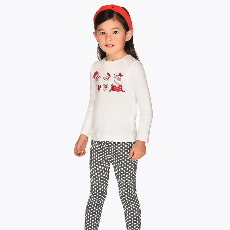 Polka Dot Leggings 4706 -6