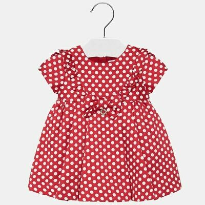 Red Dots Dress 2915 9m