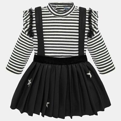 Black Skirt Set 2937 12m