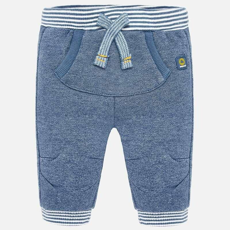 Blue Sporty Pants 2520 4/6m