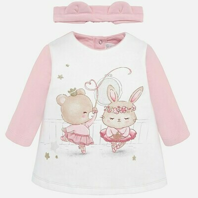 Ballerina Dress Set 2832 - 6/9m