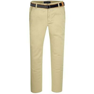 Tan Belted Twill Pants 3503 - 8