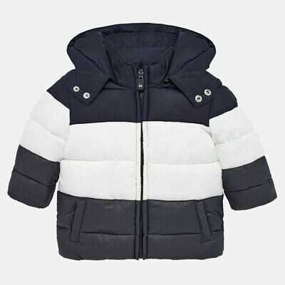 Navy Padded Coat 2451 - 9m