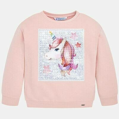 Pink Unicorn Sweatshirt 4404 - 8