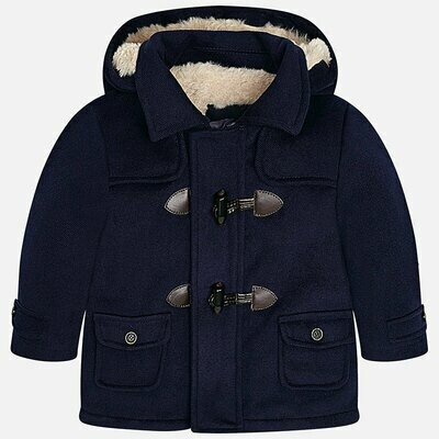Navy Duffle Coat 2487 18m