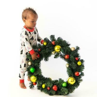 Christmas Trees PJ Set 3t
