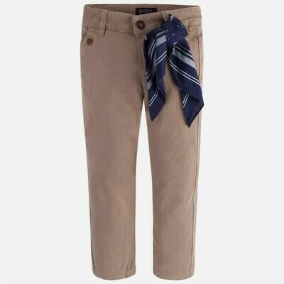 Tan Pants & Scarf 4513 - 4