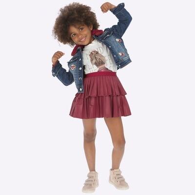 Leatherette Skirt 4909 - 7