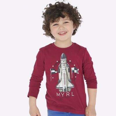 Rocketship Shirt 4029 - 2