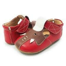 Elephant T-Strap Baby Shoe  - 18/24m