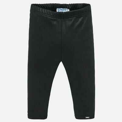 Shiny Black Leggings 2737 - 24m