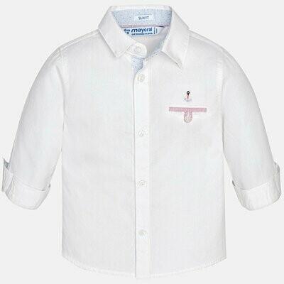 White Dress Shirt 1170B 6m