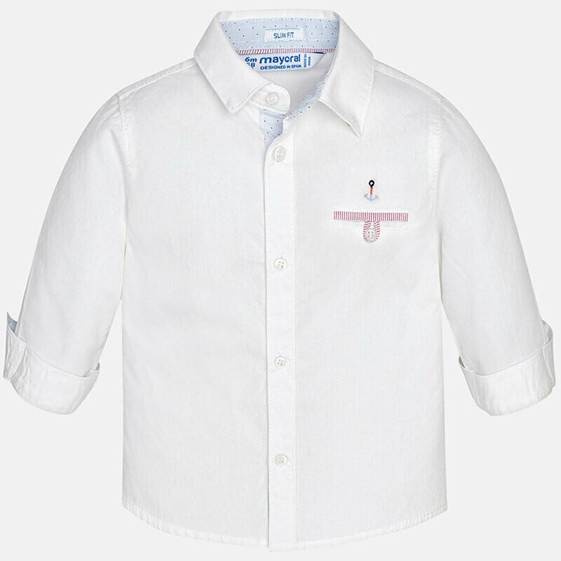 White Dress Shirt 1170B 9m
