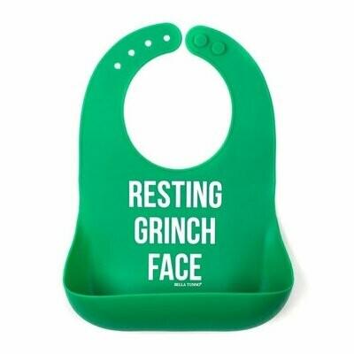 Grinch Bib