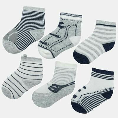 Grey Sock Set 9169 3m