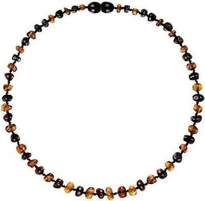 Cognac/Cherry Amber Necklace