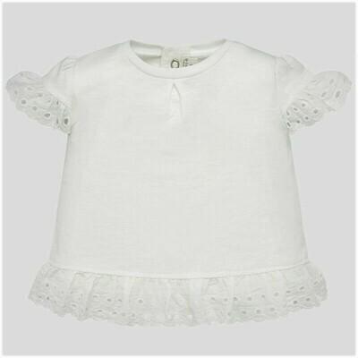 Ruffled Sleeve Shirt 1034 6/9m