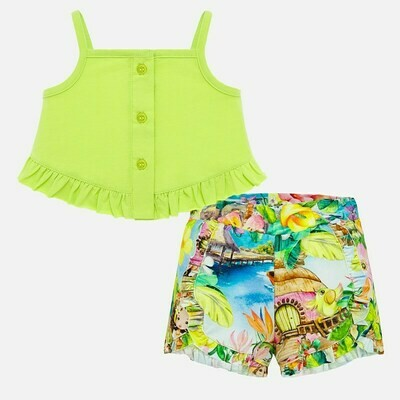 Tropical Shorts Set 1208 12m
