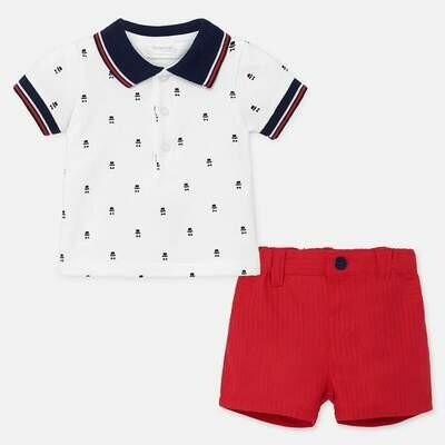 Polo & Shorts Set 1270 4/6m