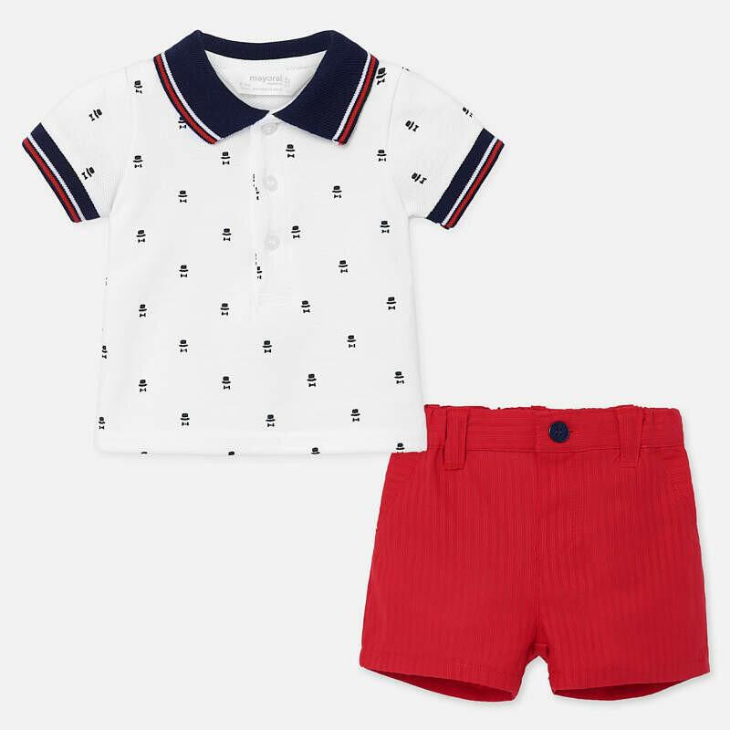 Polo & Shorts Set 1270 2/4m