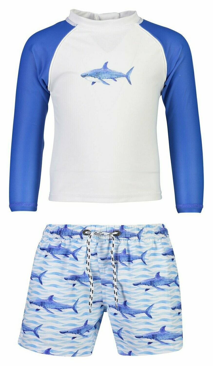 Sharks Rash Top Set 6/12m