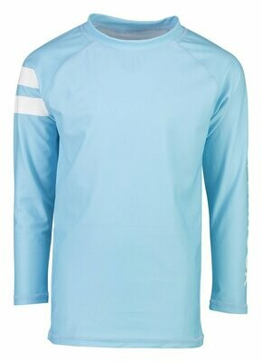 Light Blue Rash Top 4