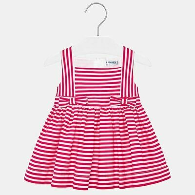 Red Stripe Dress 1919 6m