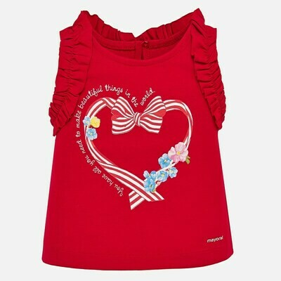Red Tank Top 1070 12m