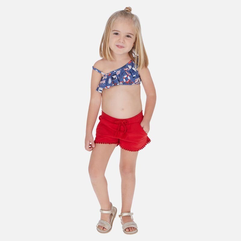 Red Play Shorts 607 3