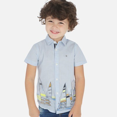Sailboat Shirt 3165 2