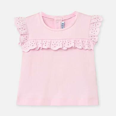 Pink Ruffled T-Shirt 1061 12m
