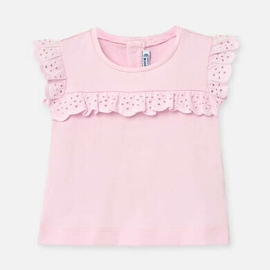 Pink Ruffled T-Shirt 1061 24m
