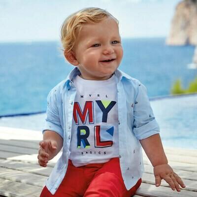 Sailboat Shirt 1166 9m